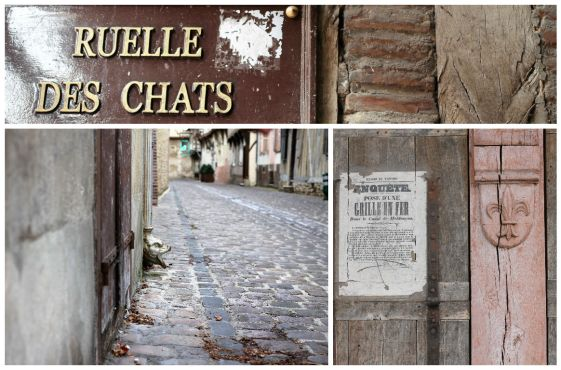 Ruelles et pavés - Troyes